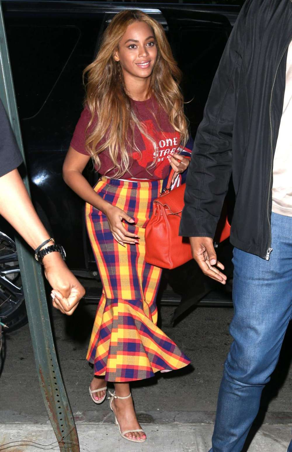 Beyonce Knowles 2015 : Beyonce Knowles out in NYC -06