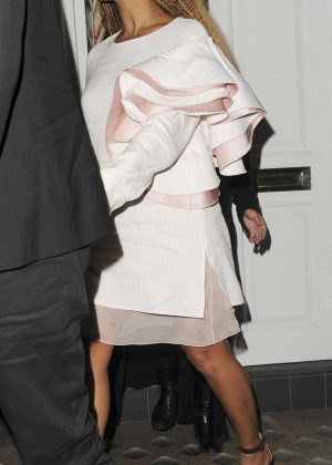 Beyonce Leaving Harry's Bar in London