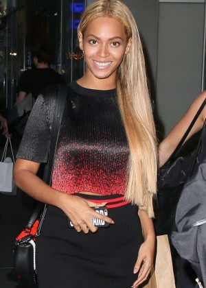 Beyonce Out in New York