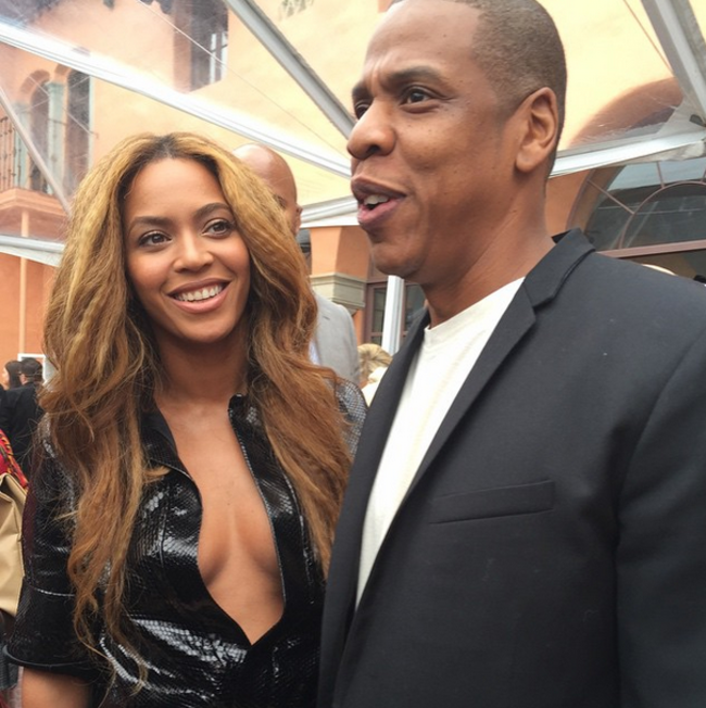 Beyonce – Roc Nation Pre-GRAMMY Brunch in Beverly Hills