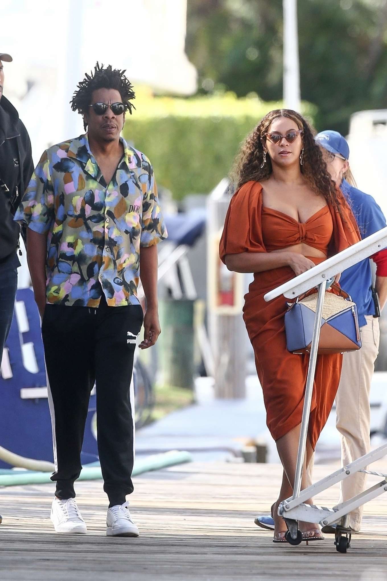 Beyonce 2019 : Beyonce – Seen at a local marina in Fort Lauderdale-04
