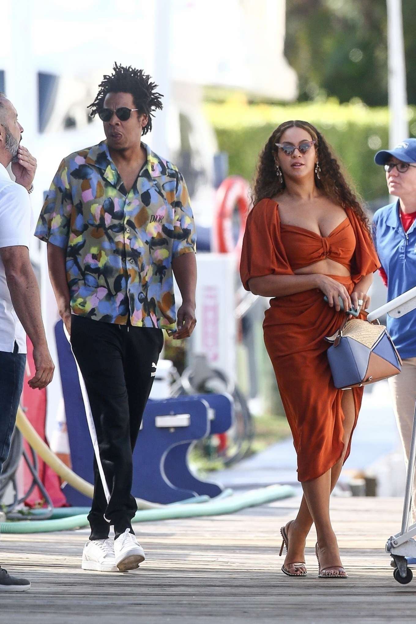 Beyonce 2019 : Beyonce – Seen at a local marina in Fort Lauderdale-11