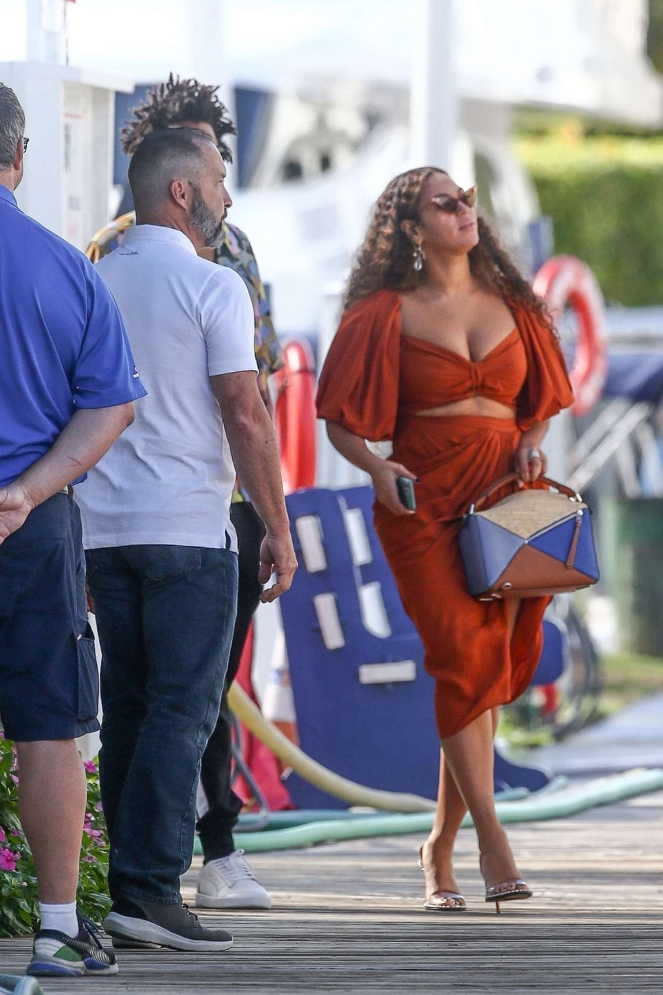 Beyonce 2019 : Beyonce – Seen at a local marina in Fort Lauderdale-16