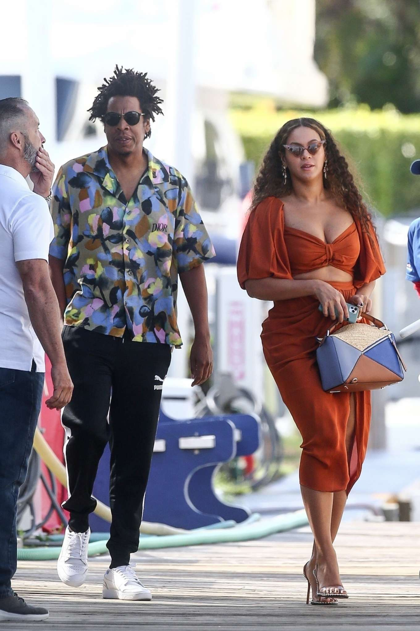 Beyonce 2019 : Beyonce – Seen at a local marina in Fort Lauderdale-17