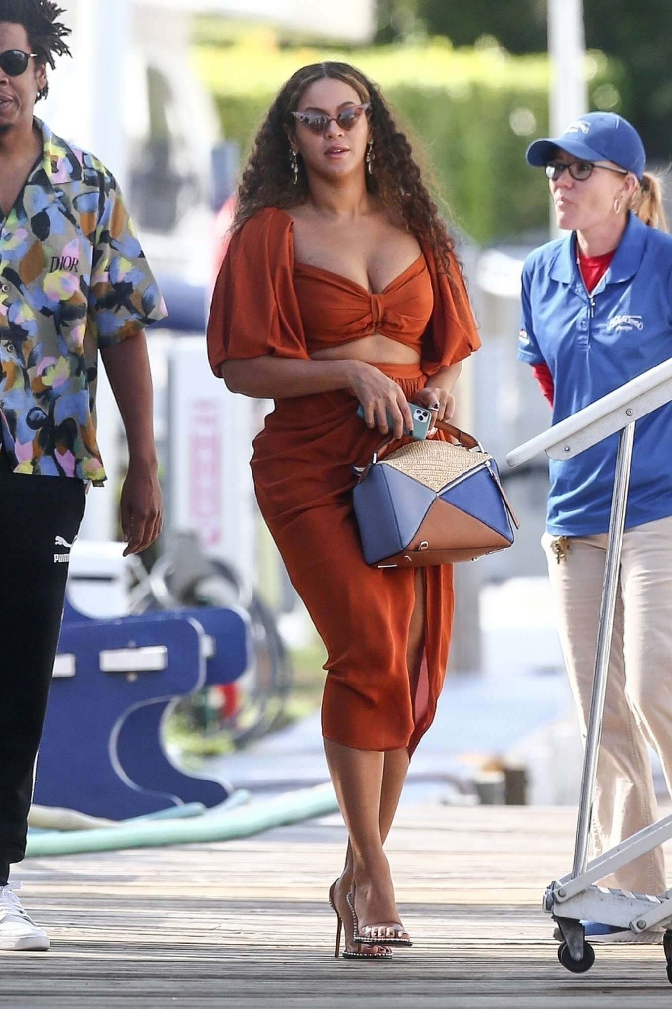 Beyonce 2019 : Beyonce – Seen at a local marina in Fort Lauderdale-20