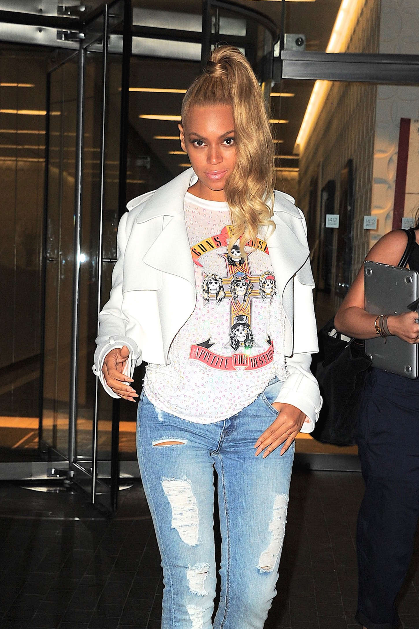 Beyonce Stepping Out In Nyc Gotceleb
