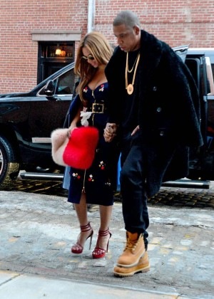 Beyonce Style out in West Village -06