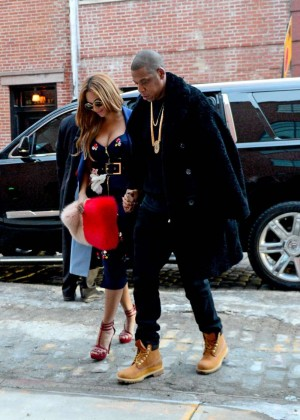 Beyonce Style out in West Village -07