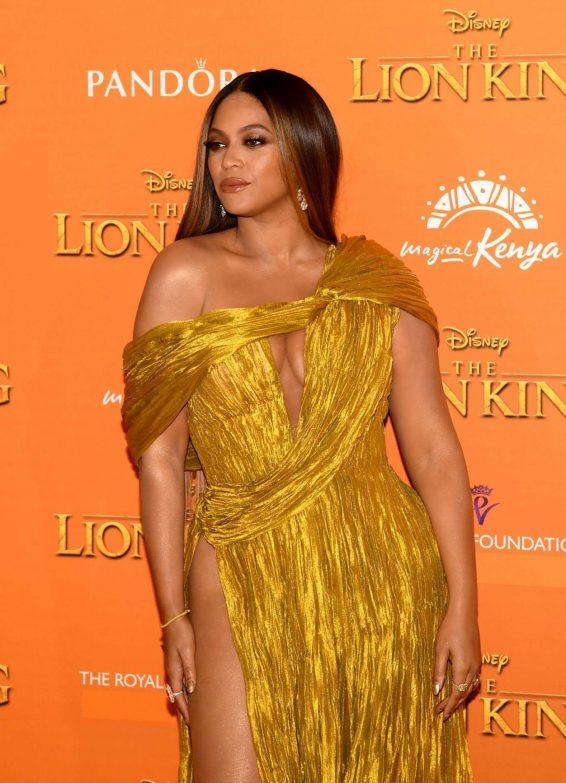 Beyonce 2019 : Beyonce – The Lion King UK Premiere-25