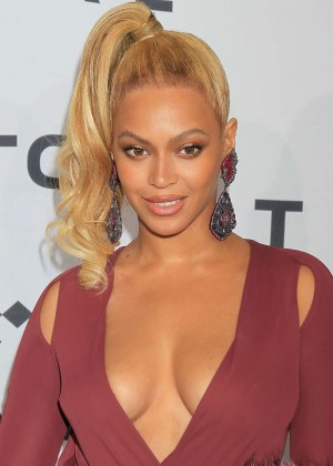 Beyonce - 'TIDAL X 1020' Amplified by HTC in Brooklyn