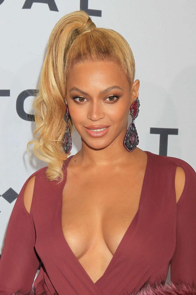 Beyonce – 'TIDAL X 1020' Amplified by HTC in Brooklyn