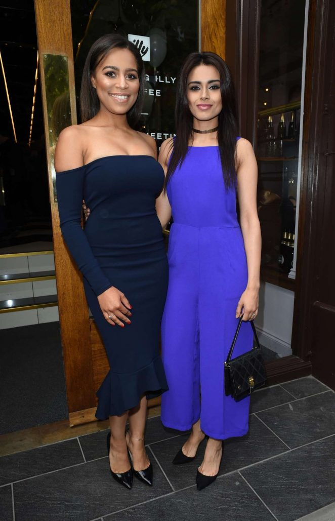 Bhavna Limbachia and Tisha Merry - Brasserie Abode Launch in Manchester