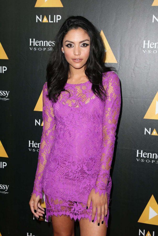 Bianca A. Santos - NALIP Latino Media Awards 2017 in Los Angeles
