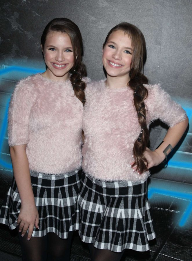 Bianca and Chiara D'Ambrosio - AJ 'Tongue' Video Release Party in Hollywood