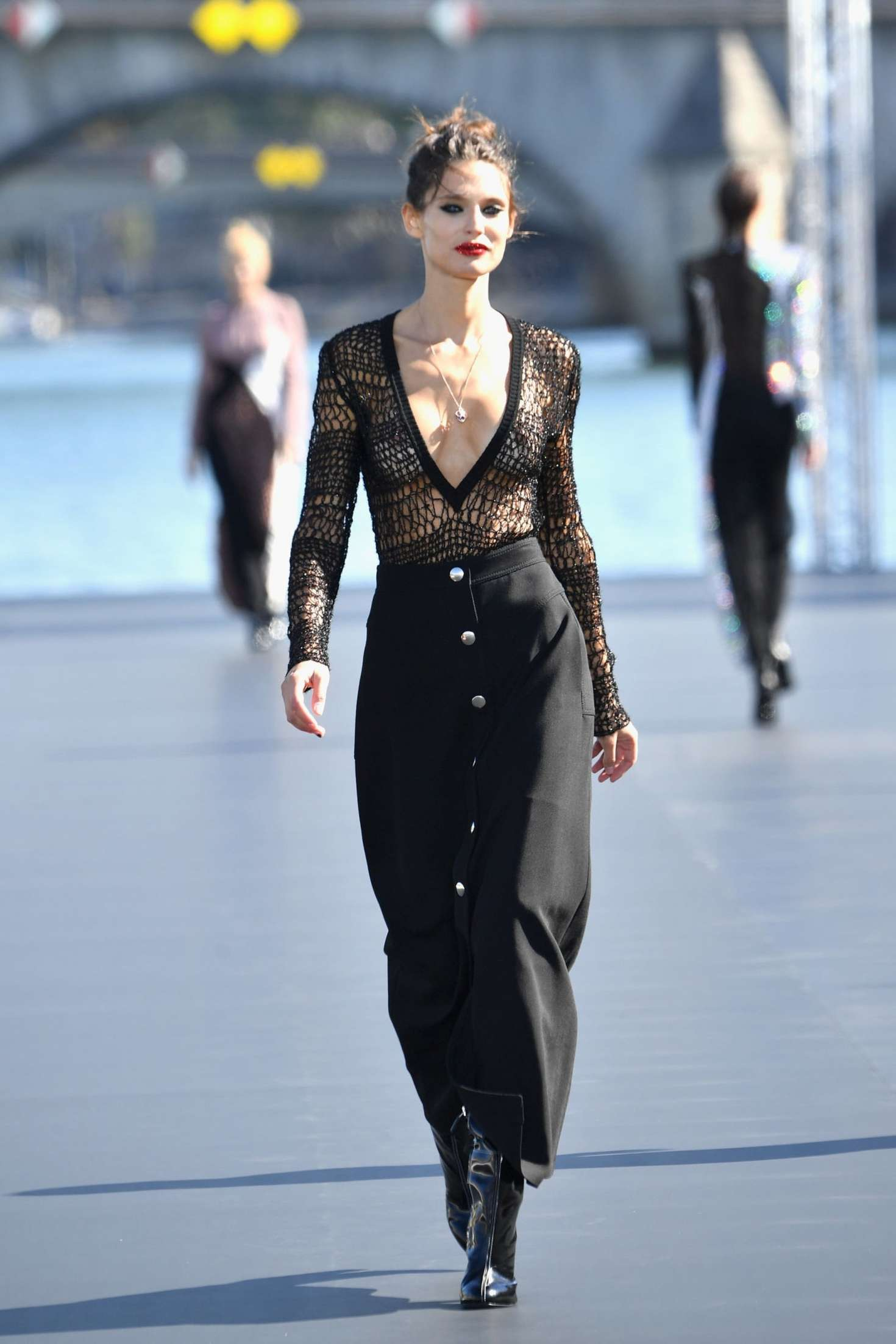 Bianca Balti LOreal Runway Show In Paris GotCeleb