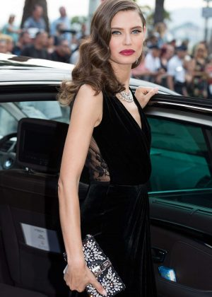 Bianca Balti Leaving Martinez hotel in Cannes