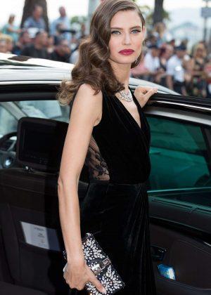 Bianca Balti Leaving Martinez hotel in Cannes