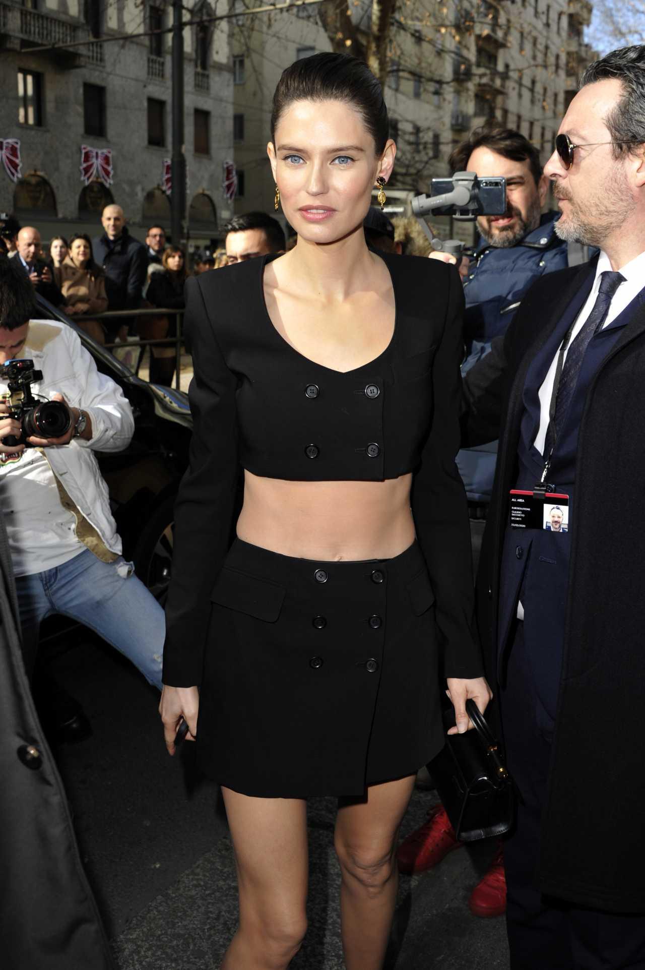 Bianca Balti - Spotted during Milan Fashion Week