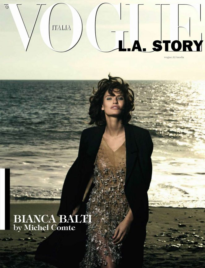 Bianca Balti - Vogue Italy Magazine (March 2017)