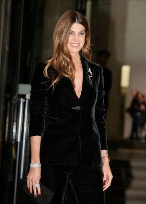 Bianca Brandolini Arrivals at Giorgio Armani Fashion Show Spring Summer 2016 in Paris