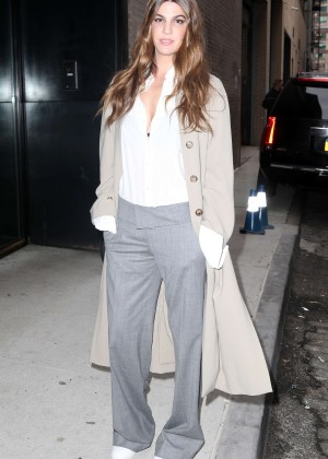 Bianca Brandolini d'Adda - Arrives at the Michael Kors 2016 Fashion Show in NYC