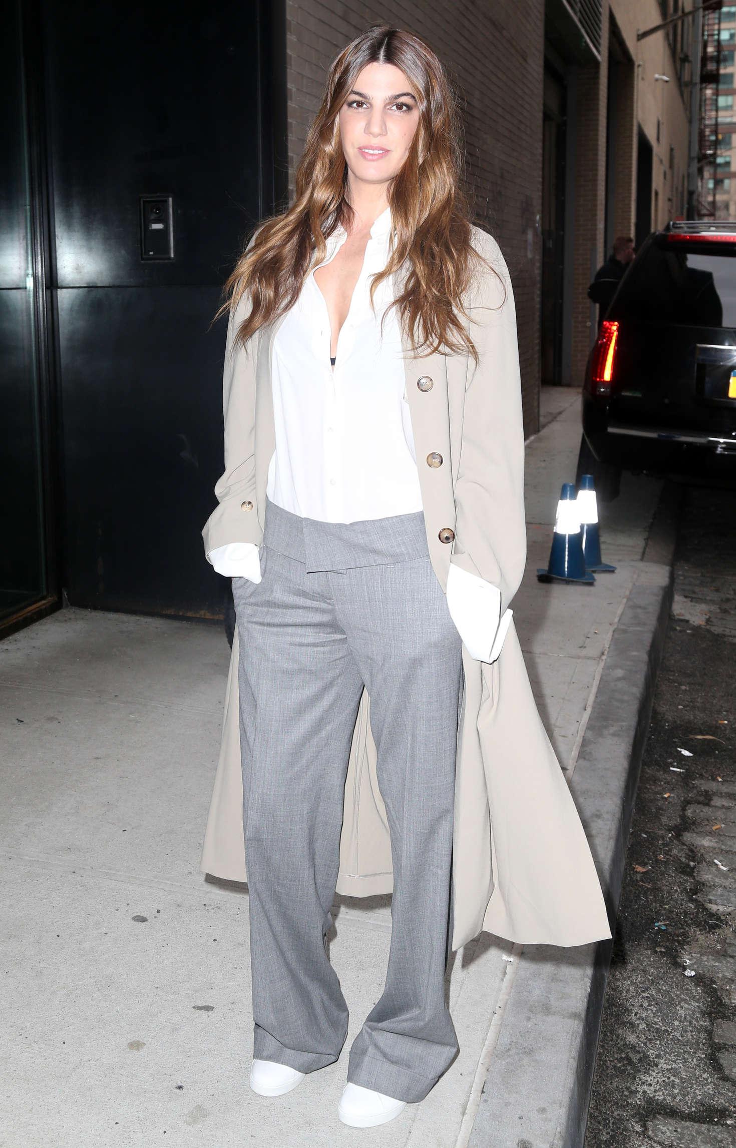 Bianca Brandolini d'Adda - Arrives at the Michael Kors 2016 Fashion Show in NYC