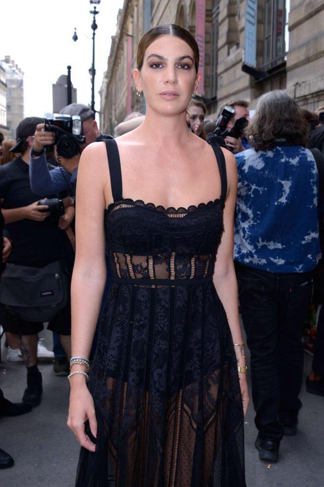 Bianca Brandolini D'adda - Elie Saab Haute Couture Show 2019 in Paris