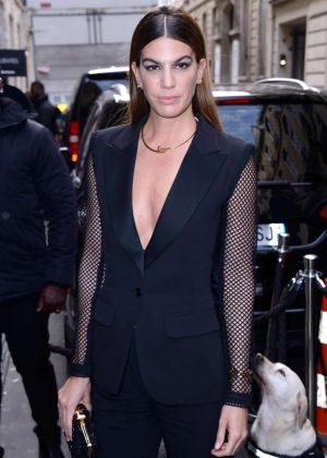 Bianca Brandolini d'Adda - Elie Saab Haute Couture SS 2018 Show in Paris