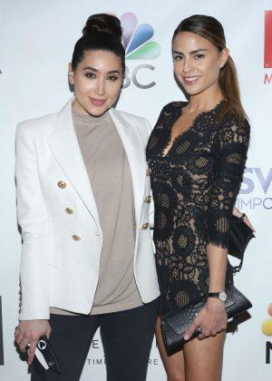 Bianca Espada and Natalie Rezex - TV Guide Magazine Celebrates Seth Meyers in New York