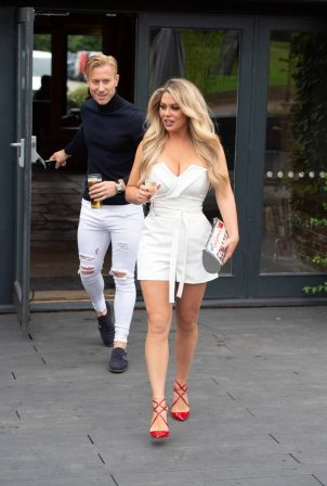 Bianca Gascoigne and Kris Boyson - Heading out on their first real date
