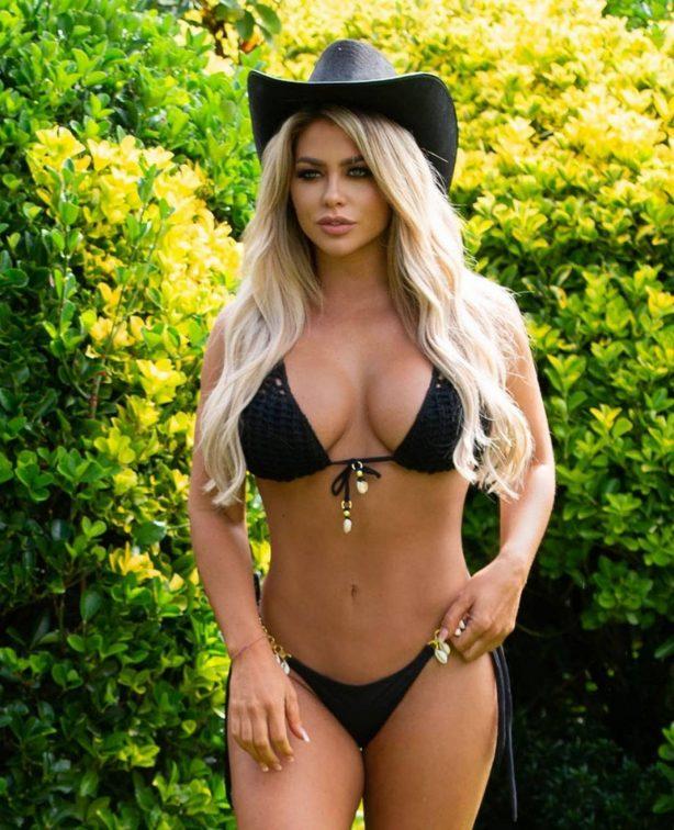 Bianca Gascoigne - In a bikini for 2021 Calendar photoshoot in Lanzarote