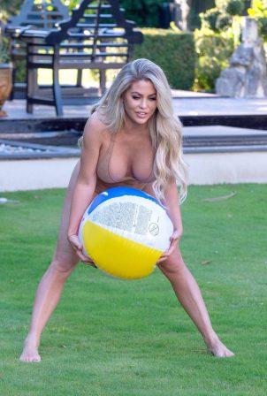 Bianca Gascoigne in Bikini on Vacation in Portugal