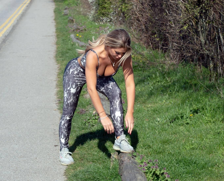 Bianca Gascoigne 2020 : Bianca Gascoigne – Workout session in Kent -04