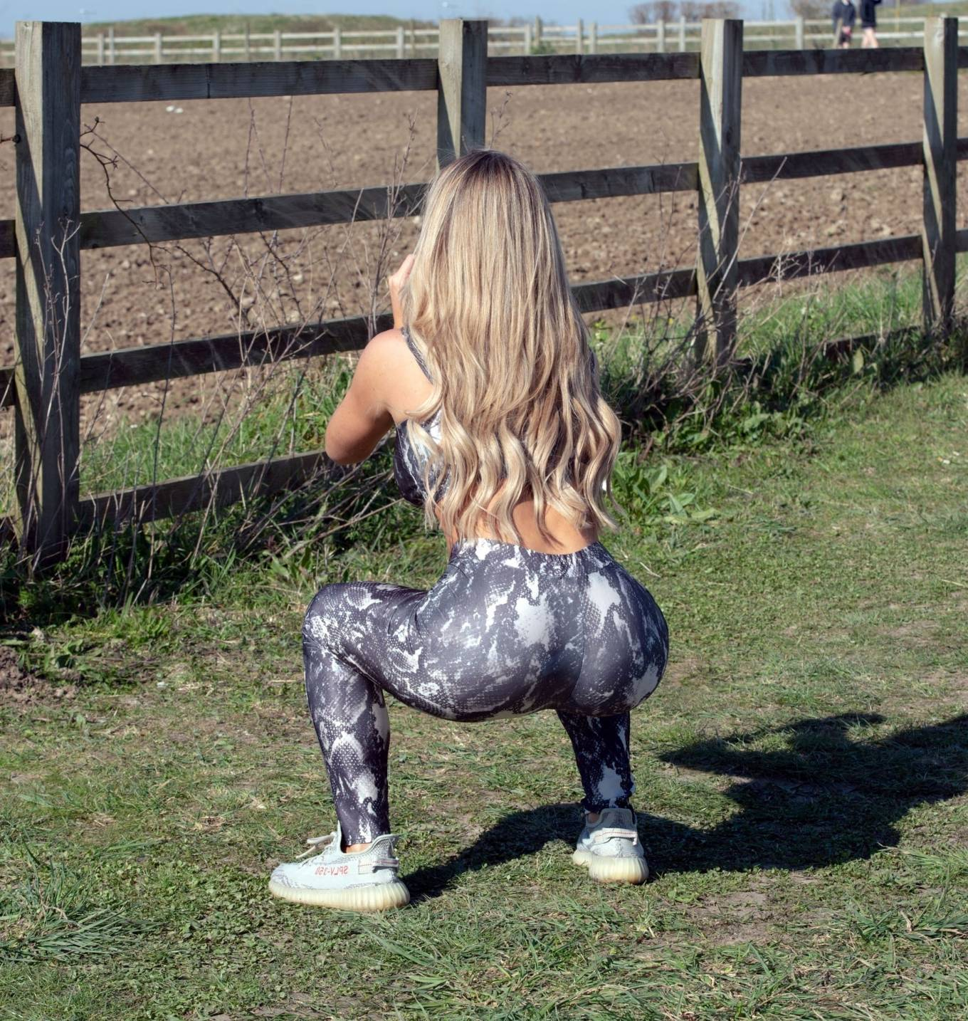 Bianca Gascoigne 2020 : Bianca Gascoigne – Workout session in Kent -07
