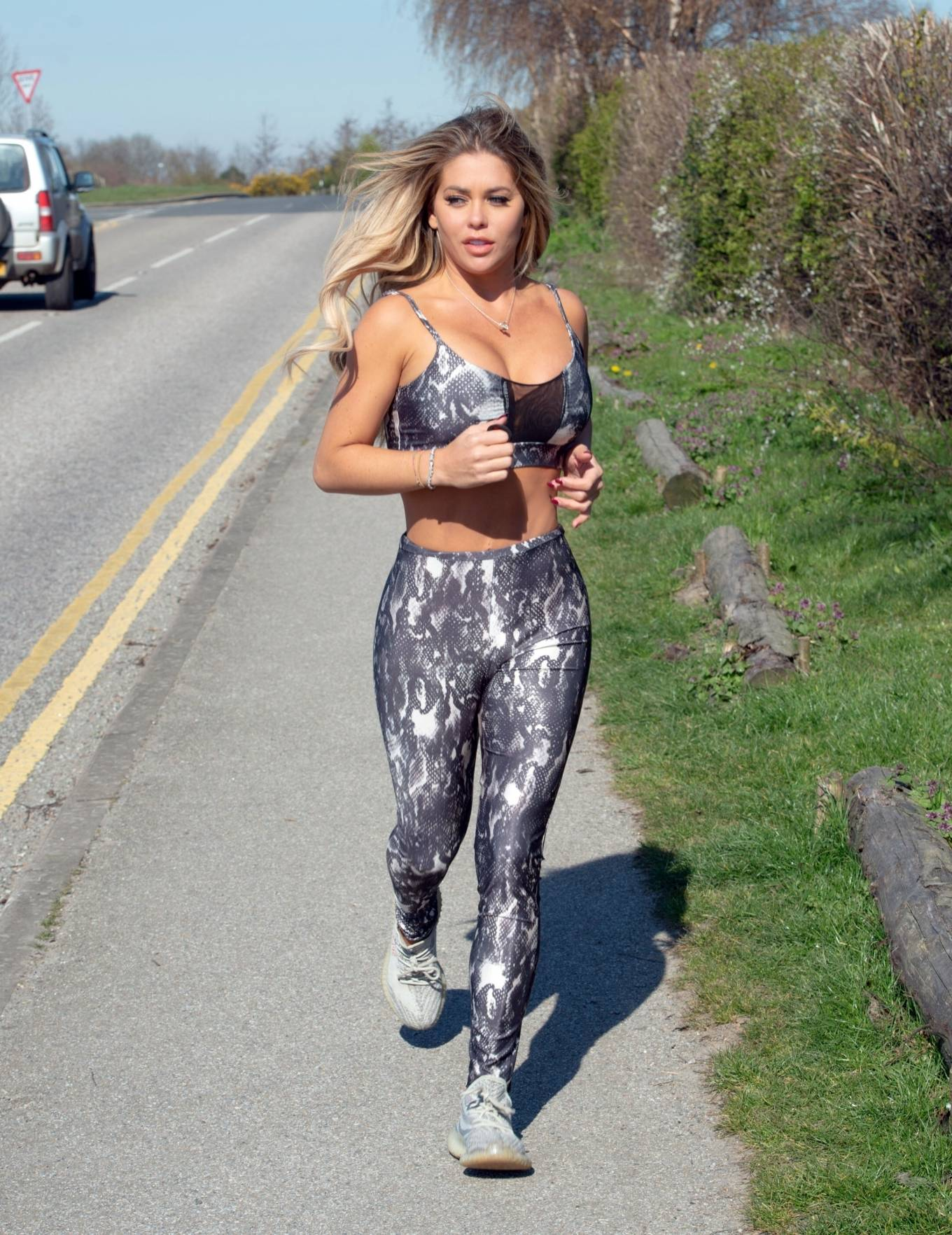 Bianca Gascoigne 2020 : Bianca Gascoigne – Workout session in Kent -09