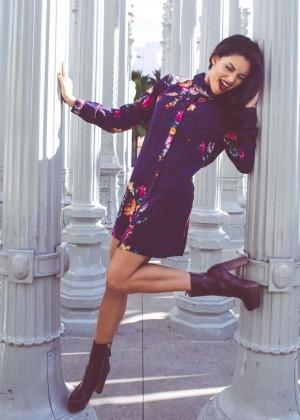 Bianca Santos - NKD Magazine (February 2015)