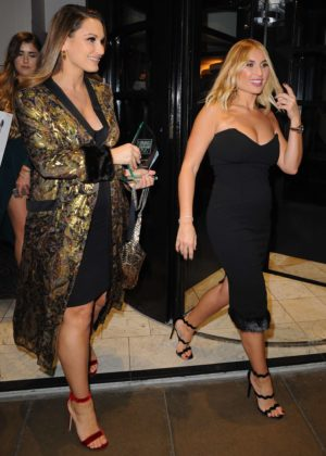 Billie and Sam Faiers - Pure Beauty Awards 2017 in London