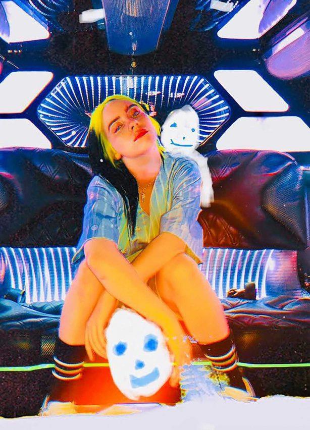 Billie Eilish - Dazed Magazine - Spring-Summer 2020