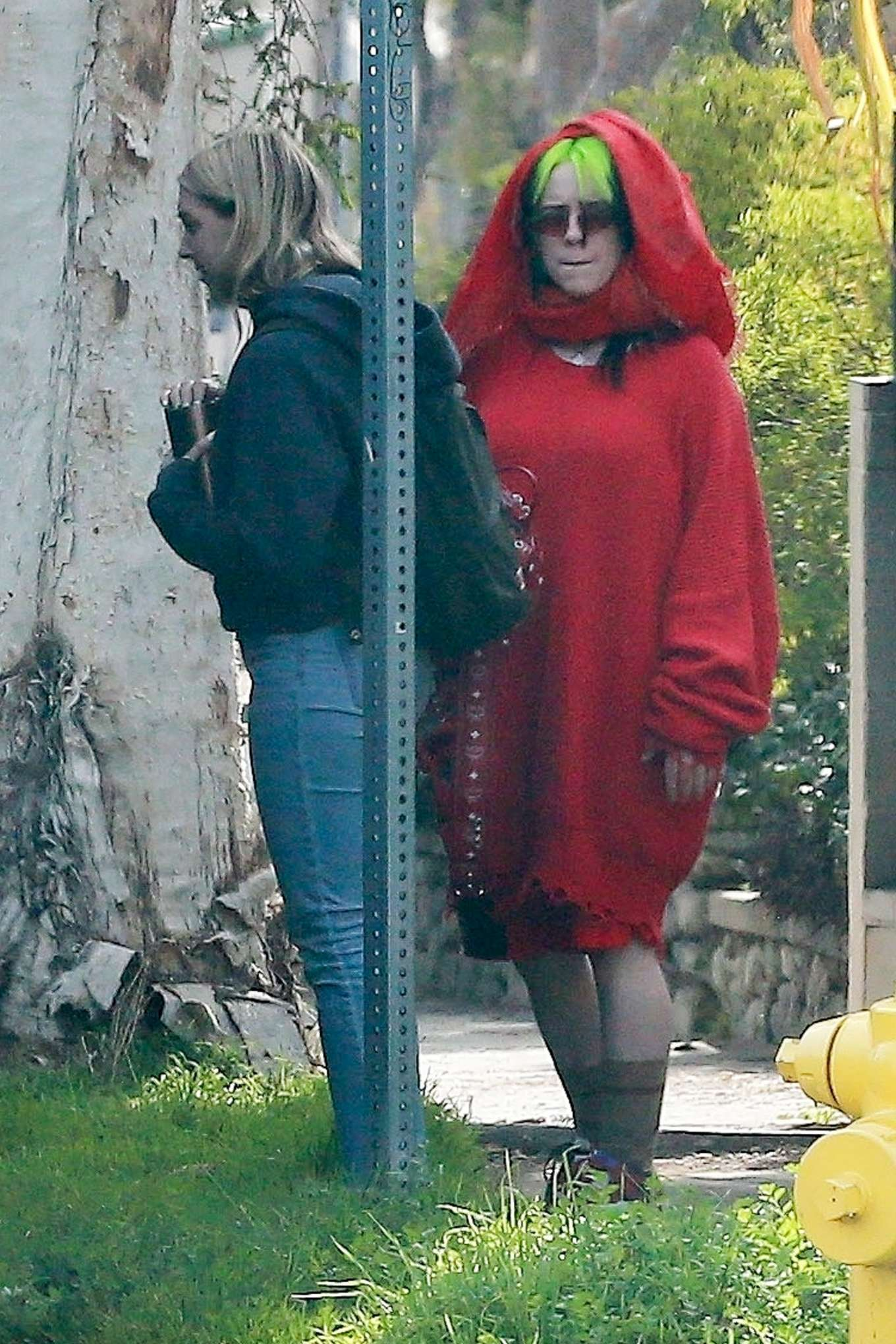 Billie Eilish - Doing a photoshoot in Los Angeles-01 ...