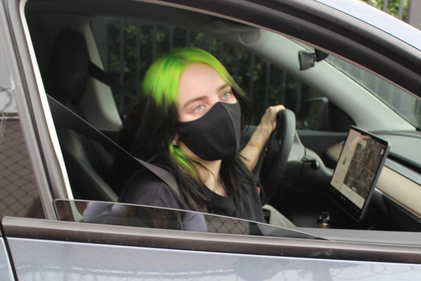 Billie Eilish - Seen while out in Los Angeles