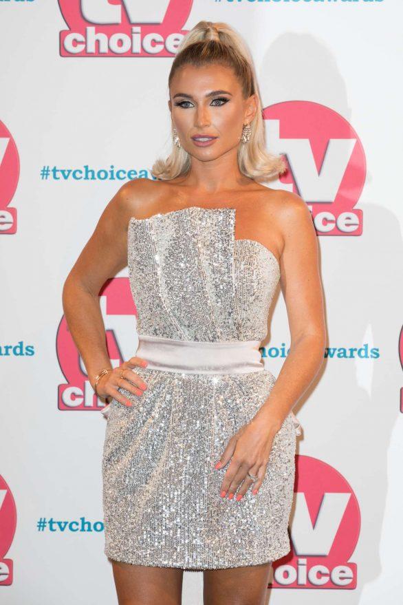 Billie Faiers - 2019 TV Choice Awards in London