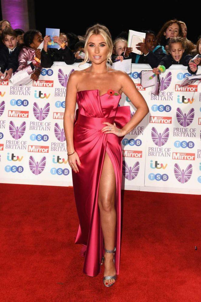Billie Faiers - Pride of Britain Awards 2018 in London
