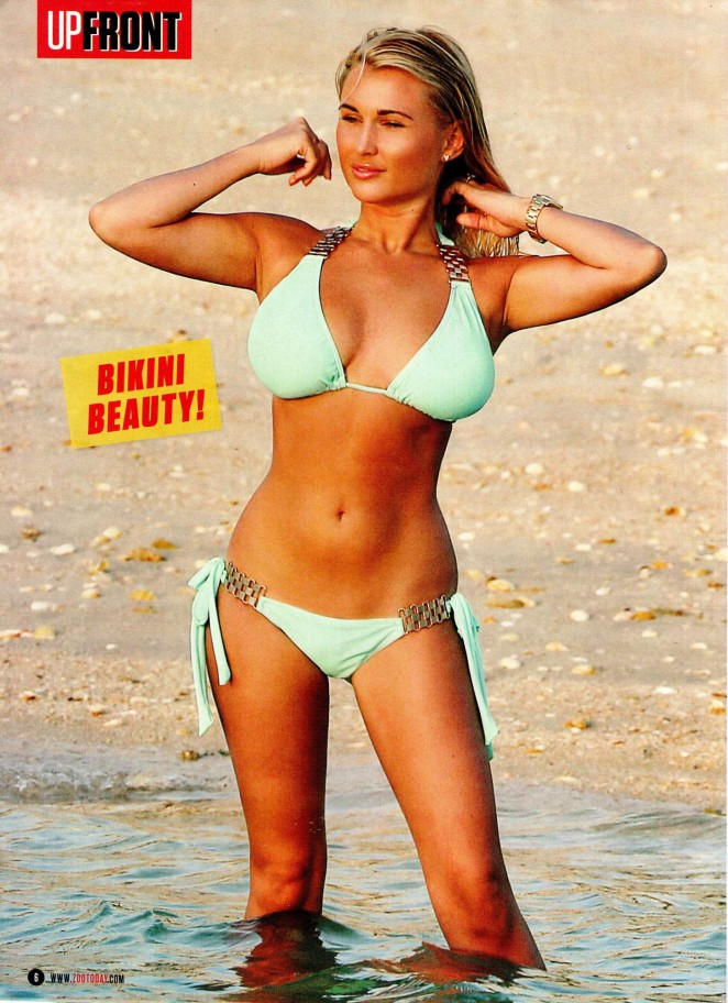 Billie Faiers - UPFRONT ZOO Magazine (March 2015)