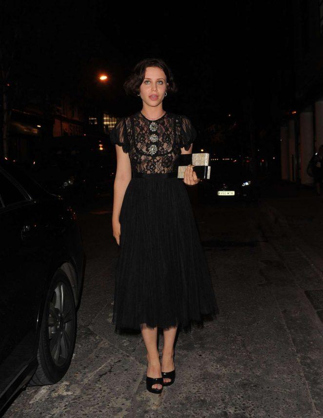 Billie JD Porter at YSL Beauty Club in London