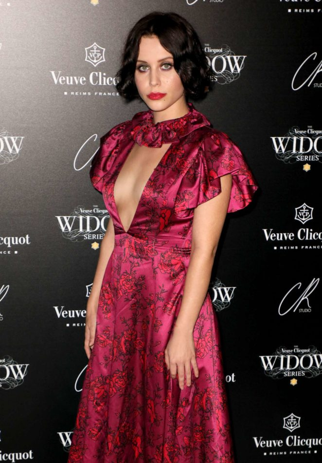 Billie JD Porter - The Veuve Clicquot Widow Series VIP launch party in London