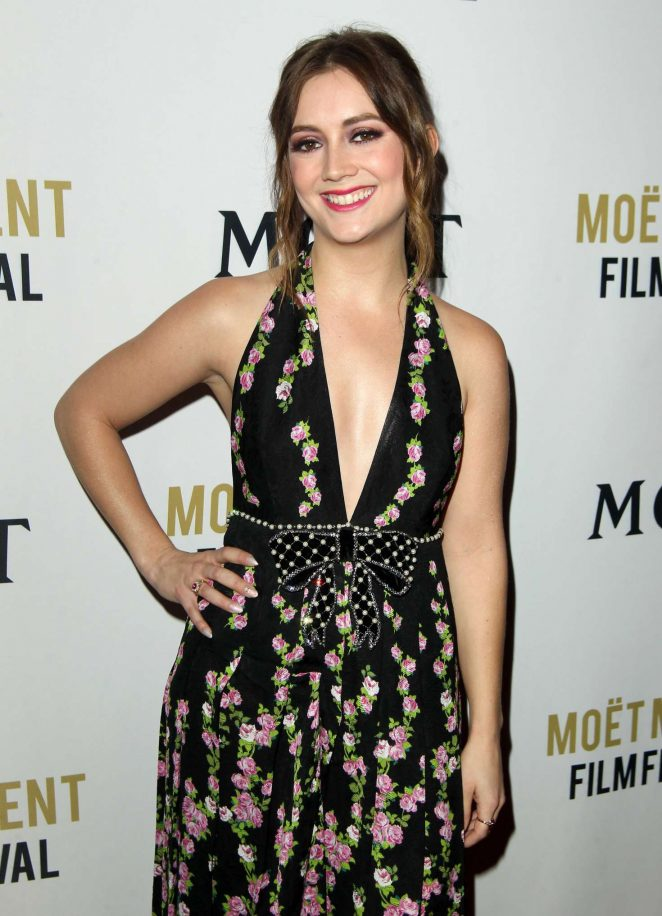 Billie Lourd - 2018 Moet Moment Film Festival in LA
