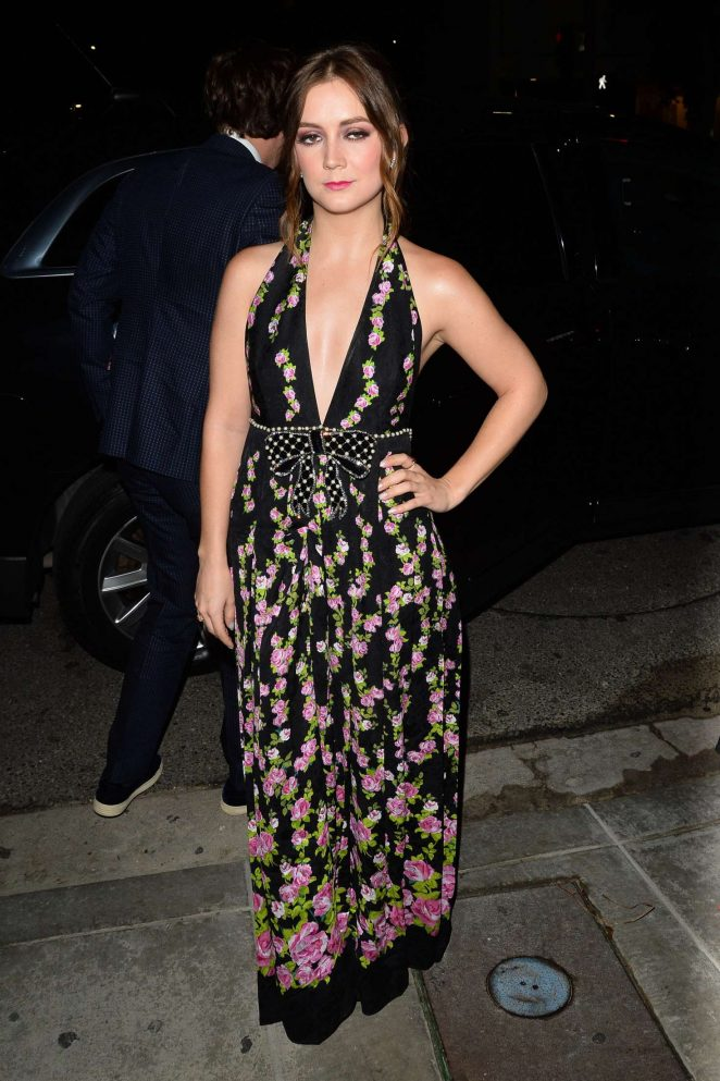 Billie Lourd - Attends a party for Moet at Poppy in West Hollywood