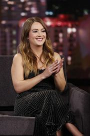Billie Lourd - On Jimmy Kimmel Live! in Los Angeles