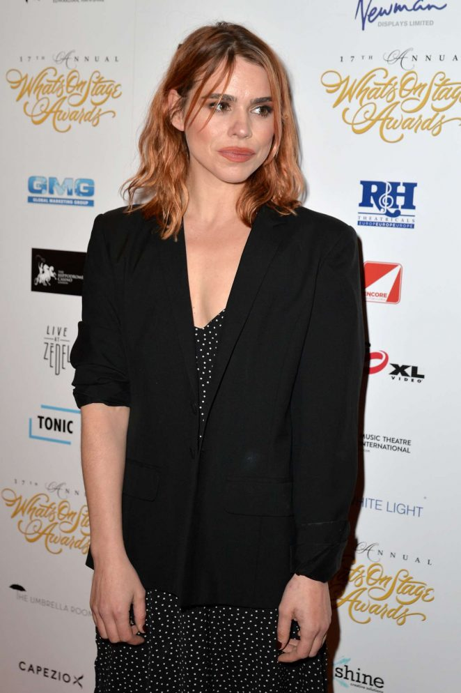 Billie Piper - 2017 WhatsOnStage Awards Concert Awards in London