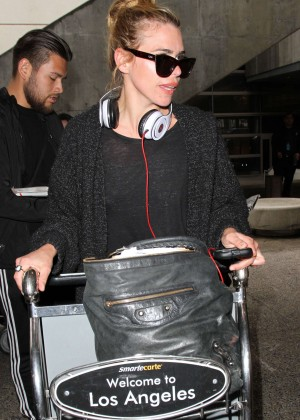 Billie Piper at LAX Airport in Los Angeles